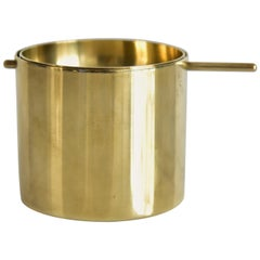 Small Arne Jacobsen Brass Ashtray by Stelton Made in Denmark