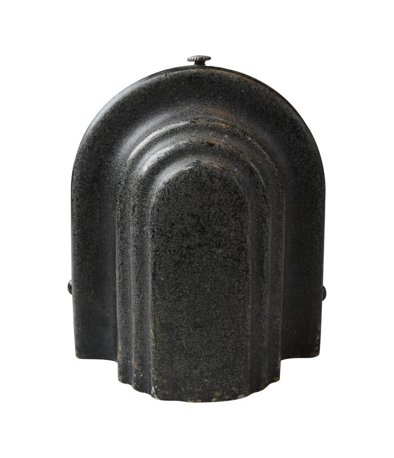 Mid-20th Century Small Art Deco Sconce with Shade For Sale