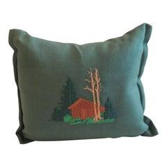 Small Balsam Fir Pine Needles Scented Pillow