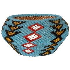 Small Beaded Paiute Basket