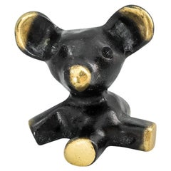 Small Bear Figurine by Walter Bosse, circa 1950s