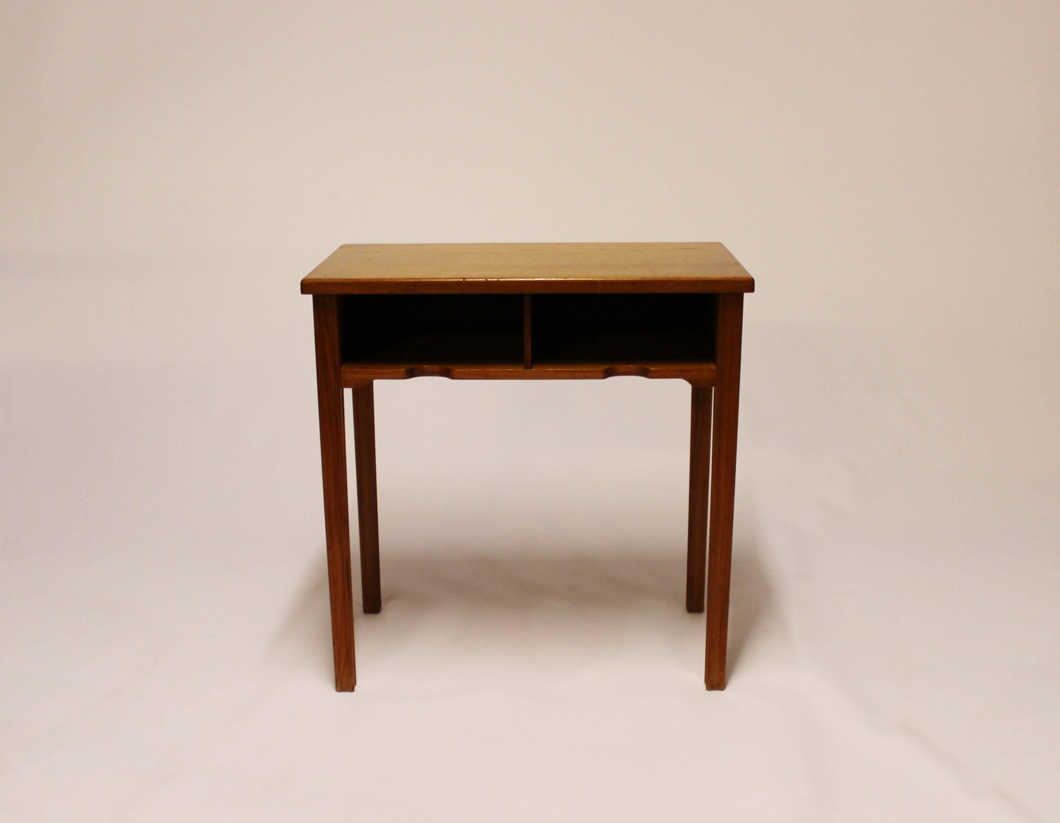 Small Bedside Table In Teak Of Danish Design By Flexi Møbler, 1960s
