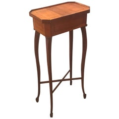 Small Biedermeier 19th Century Drinks Side Table