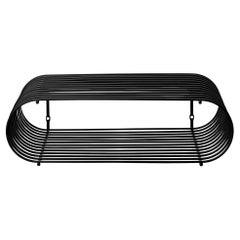 Small Black Contemporary Shelf