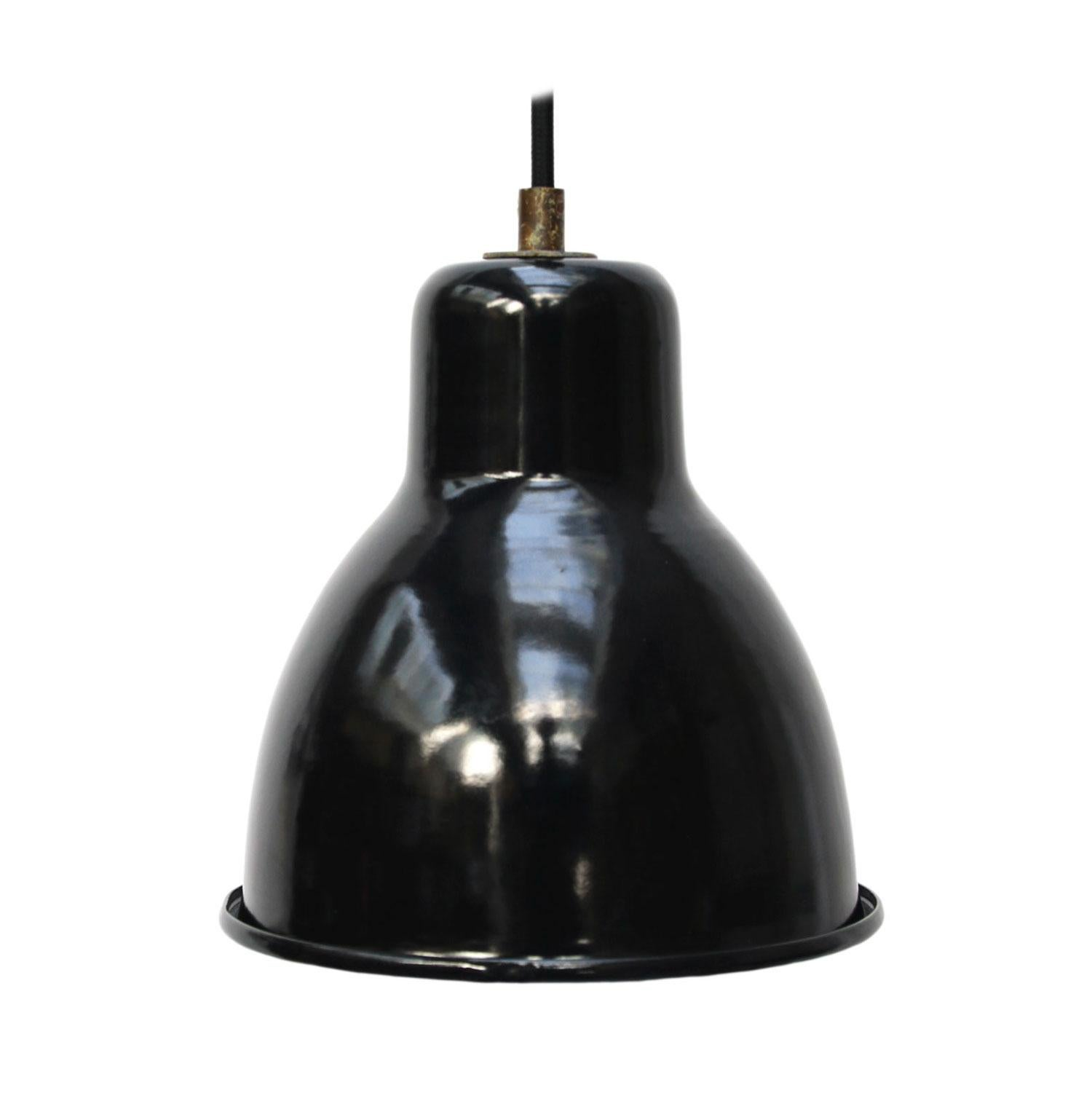 Black Enamel Vintage Industrial Factory Pendant Hanging Lights