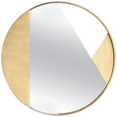 Small Brass Edition Mirror by Edizione Limitata