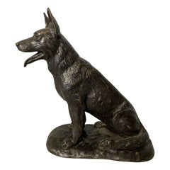 Small Bronze Dog, 20th Century