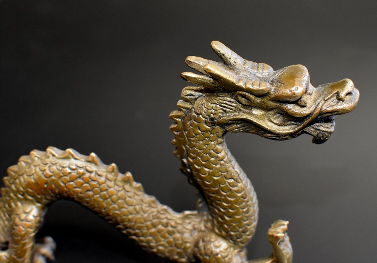 Small Bronze Dragon For Sale 4