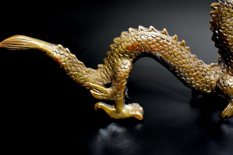 Small Bronze Dragon For Sale 6