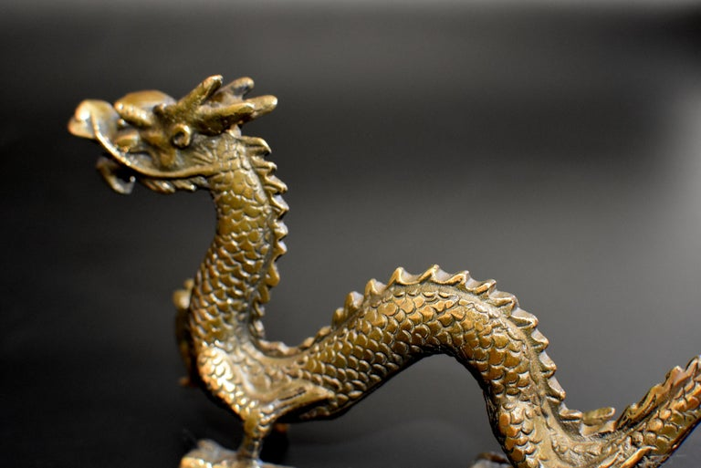 Small Bronze Dragon For Sale 10