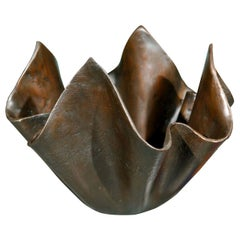 Small Bronze Handkerchief Planter