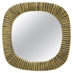 Small Bronze Mirror, Ribbed