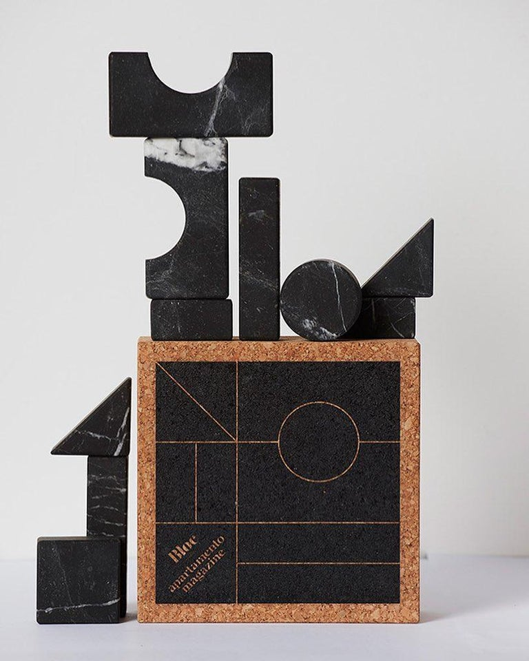 Small Building Decorative Blocks