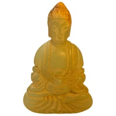 Small Carved Buddha Figure Sculpture