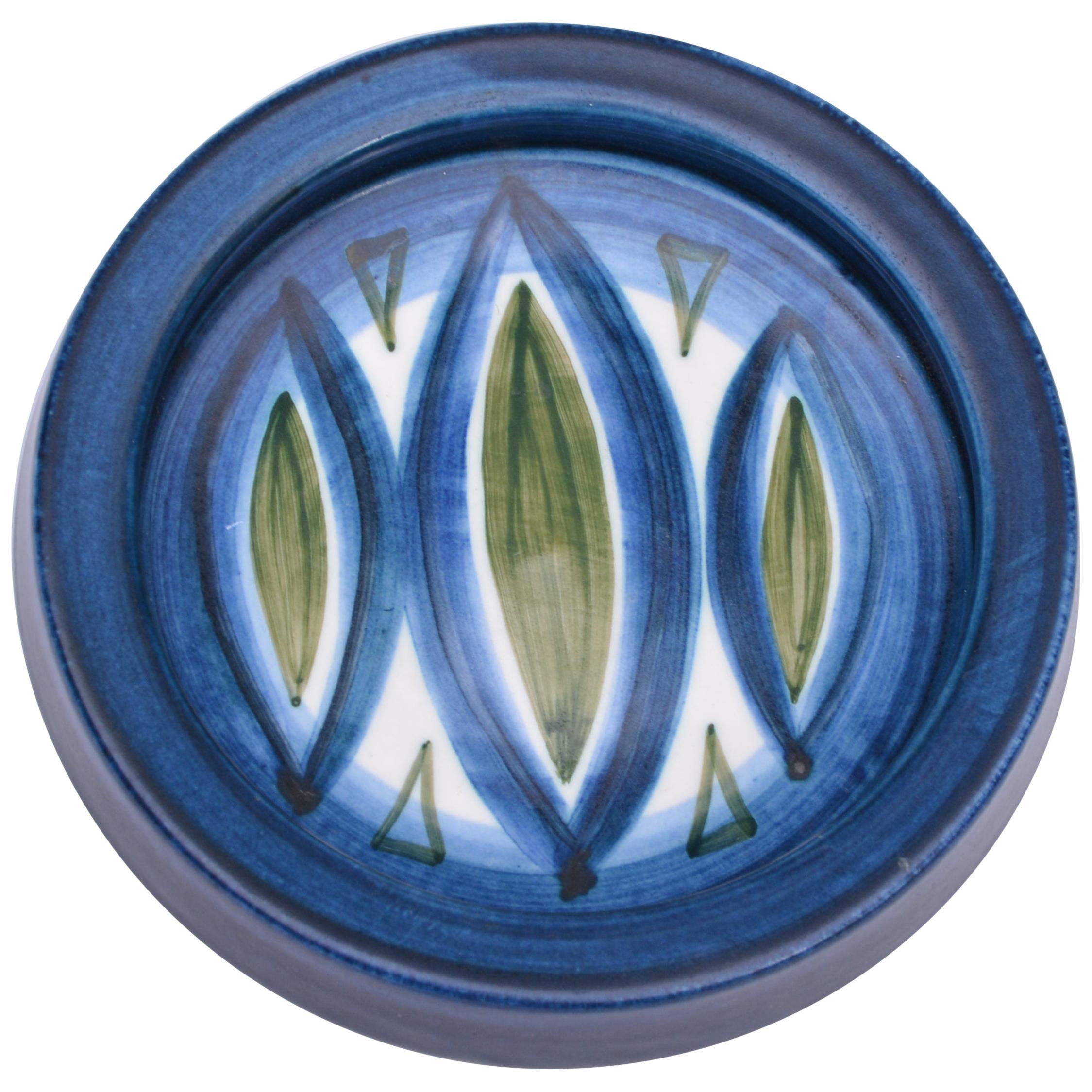 Small Ceramic Bowl by Günter and Waltraud Praschak for Knabstrup, 1960s