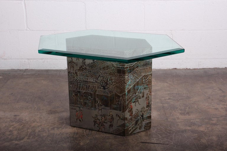 Small Chan Side Table by Philip and Kelvin LaVerne 9