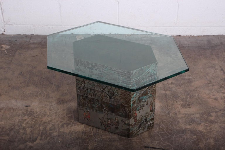 Small Chan Side Table by Philip and Kelvin LaVerne 10