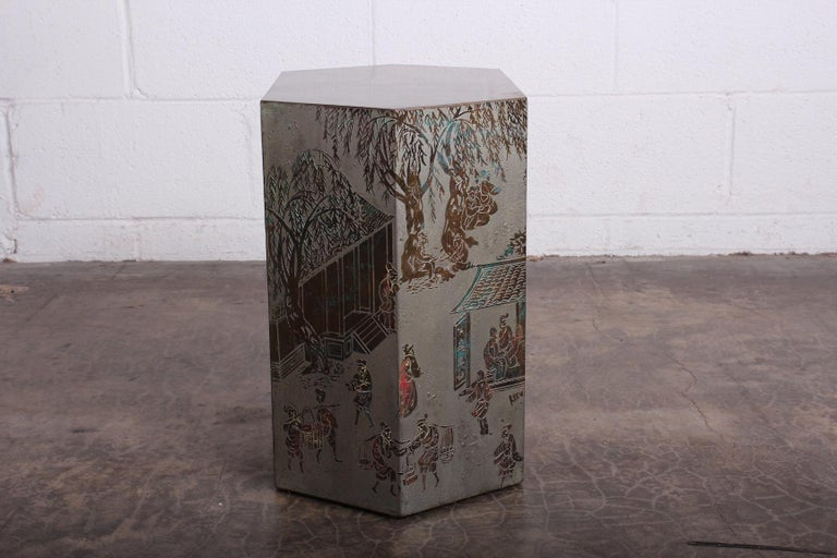 Small Chan Side Table by Philip and Kelvin LaVerne 3