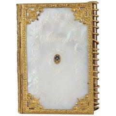 Small Charles X Ball Notebook, Palais-Royal