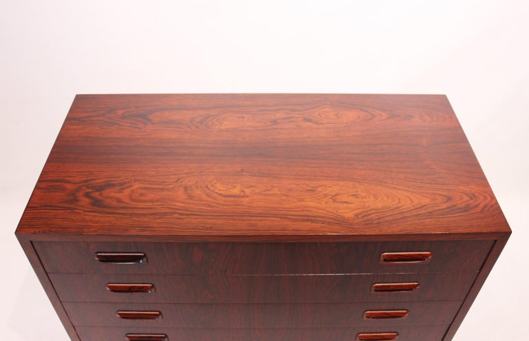 Small Chest of Drawers in Rosewood of Danish Design, 1960s In Good Condition For Sale In Lejre, DK
