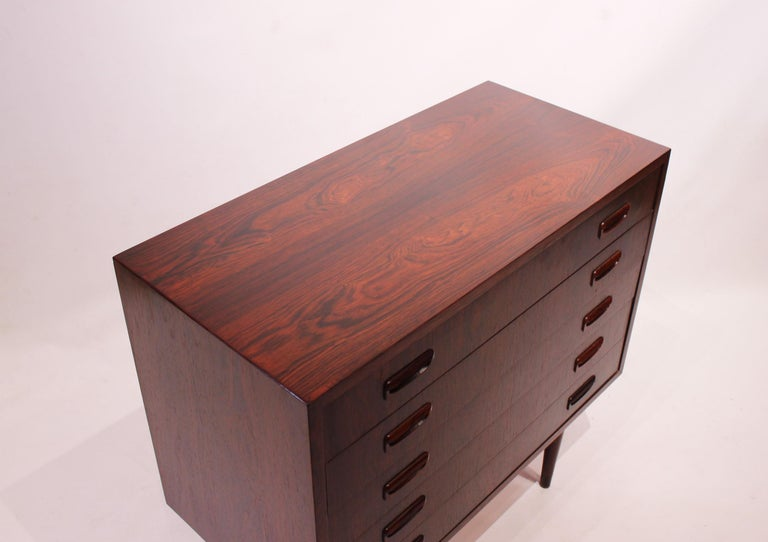 Small Chest of Drawers in Rosewood of Danish Design, 1960s For Sale 2