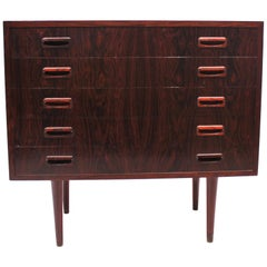 Small Chest of Drawers in Rosewood of Danish Design, 1960s