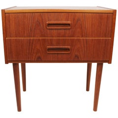 Small Chest of Drawers in Teak of Danish Design from the 1960s