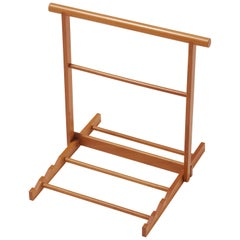 Gae Aulenti Small Chevalet d'Orsay Wooden Easel for Frames by Bottega Ghianda