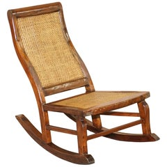 Small Children's Antique Rocking Chair Ideal for Children Upto 6 Years Old