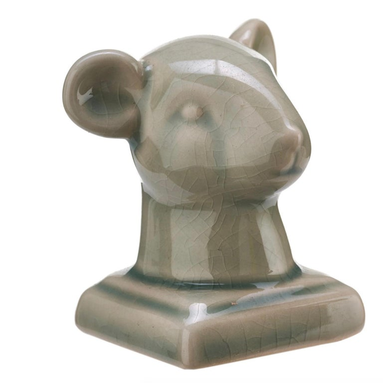 Contemporary Small Chinese Zodiac Head Busts For Sale