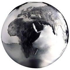 Small Chiseled Globe