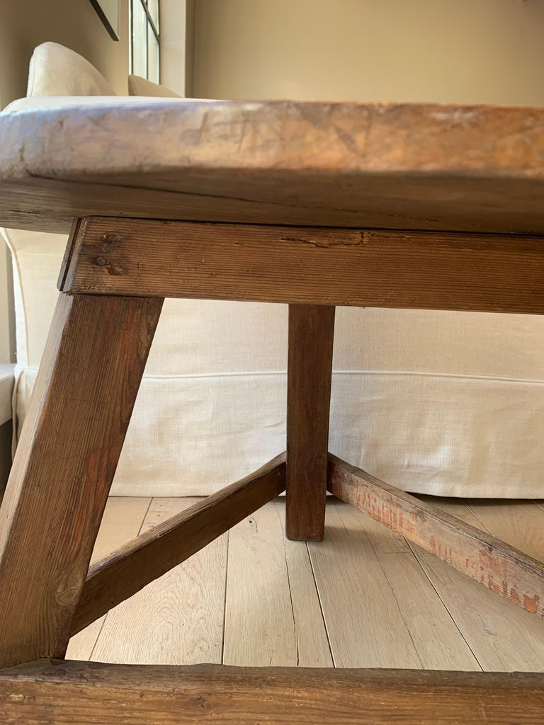 Small Circular Side Table 19th Century Cricket Table For Sale 2