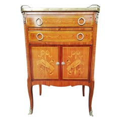 Small Commode Furniture End 19th Century