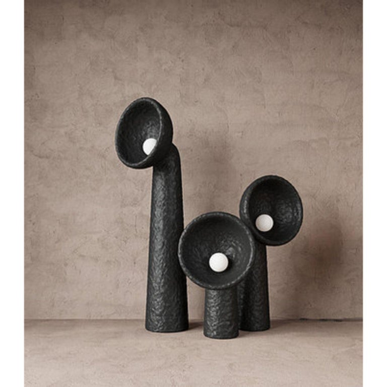 Steel Small Contemporary Floor Lamp by FAINA For Sale