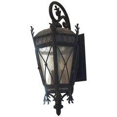 Small Contemporary Wall Lantern