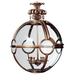 Small Convex Globe Lantern
