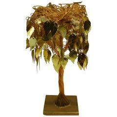 Small Copper Tree Sculpture