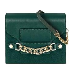 Small Crossbody Handbag - Mallard Mini Green