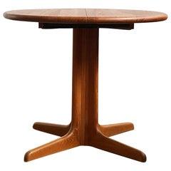 Small Danish Mid-Century Modern Extendable Teak Dining Table, 1960s