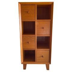 Small Danish Modern Teak Four Drawer Cabinet