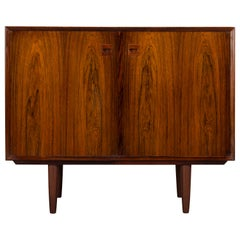 Small Danish Palissander Sideboard by E. Brouer for Brouer Møbelfabrik, 1960s