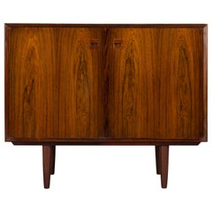 Small Danish Rosewood Sideboard by E. Brouer for Brouer Møbelfabrik, 1960s