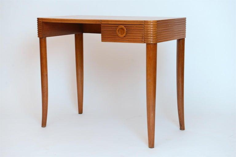Italian Small Desk, circa 1950 For Sale