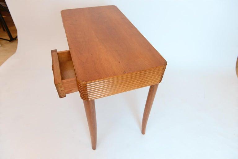 Cherry Small Desk, circa 1950 For Sale