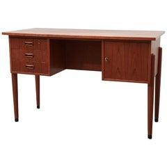 Small Desk Kontor Teak, Denmark, 1960s