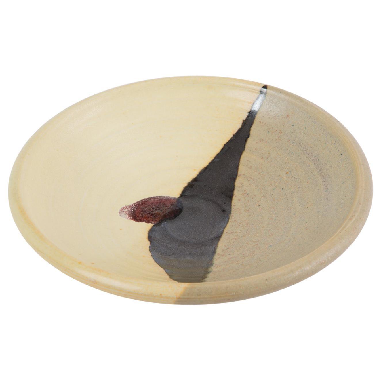 Small Dish with Yellow Glaze by Otto Heino