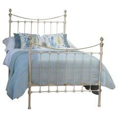 Small Double Bed in Cream
