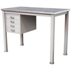 Small Dutch Industrial Desk or Vanity