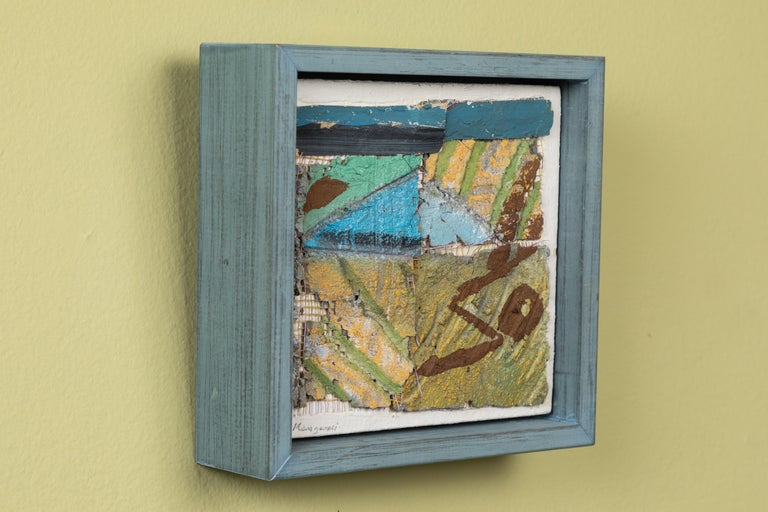 Small English Mixed-Media Collage In Good Condition For Sale In Los Angeles, CA