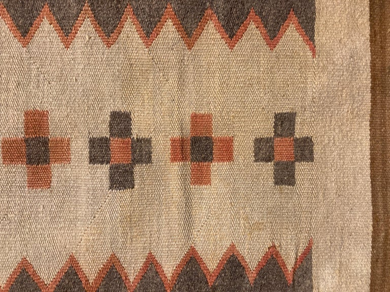 American Small, Exquisite Navajo Weaving For Sale